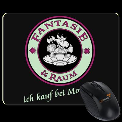 Motiv: Mousepad Textil - Ich kauf bei Moni ein
