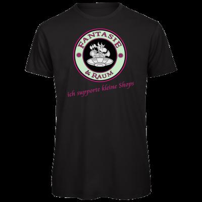 Motiv: Organic T-Shirt - ich supporte kleine Shops-hell