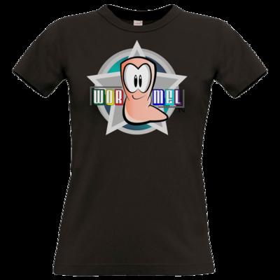 Motiv: T-Shirt Damen Premium FAIR WEAR - Big Wormel Logo