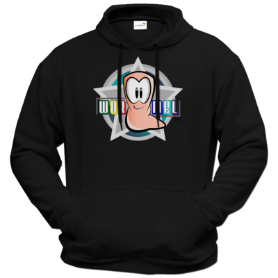 Motiv: Hoodie Premium FAIR WEAR - Big Wormel Logo