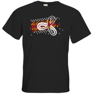 Motiv: T-Shirt Premium FAIR WEAR - Elithera Konfetti Schleife