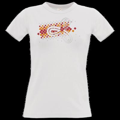 Motiv: T-Shirt Damen Premium FAIR WEAR - Elithera Konfetti Schleife