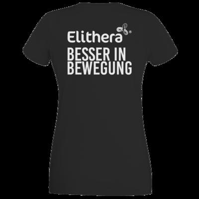 Motiv: T-Shirt Damen Premium FAIR WEAR - Elithera Besser In Bewegung