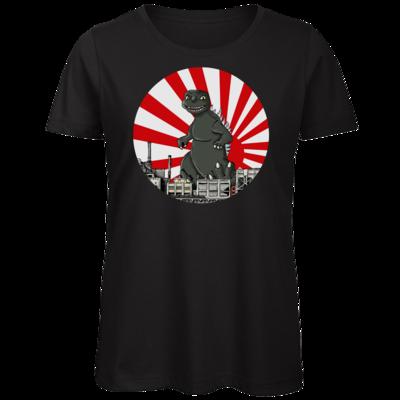 Motiv: Organic Lady T-Shirt - Monster