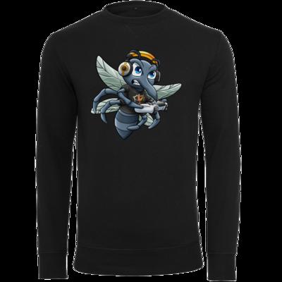 Motiv: Light Crew Sweatshirt - Moskito/Logo