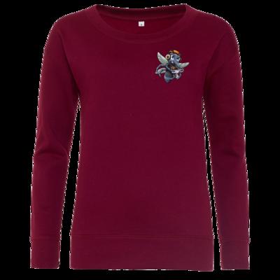 Motiv: Girlie Crew Sweatshirt - Moskito/Logo