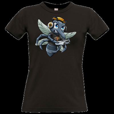 Motiv: T-Shirt Damen Premium FAIR WEAR - Moskito/Logo