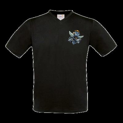 Motiv: T-Shirt V-Neck FAIR WEAR - Moskito/Logo
