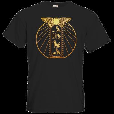 Motiv: T-Shirt Premium FAIR WEAR - DSK - Brüchiger Frieden Logo