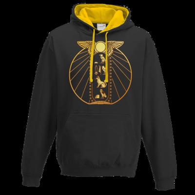 Motiv: Two-Tone Hoodie - DSK - Brüchiger Frieden Logo
