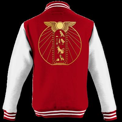 Motiv: College Jacke - DSK - Brüchiger Frieden Logo