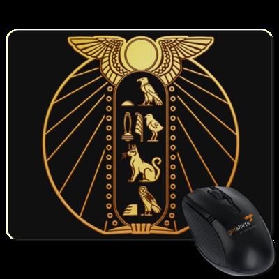 Motiv: Mousepad Textil - DSK - Brüchiger Frieden Logo