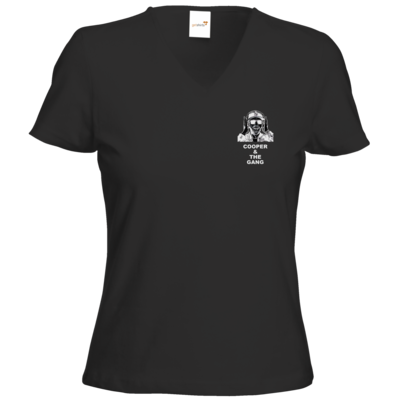 Motiv: T-Shirts Damen V-Neck FAIR WEAR - weiß