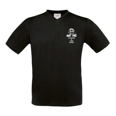 Motiv: T-Shirt V-Neck FAIR WEAR - weiß