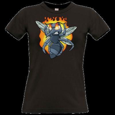 Motiv: T-Shirt Damen Premium FAIR WEAR - Rage