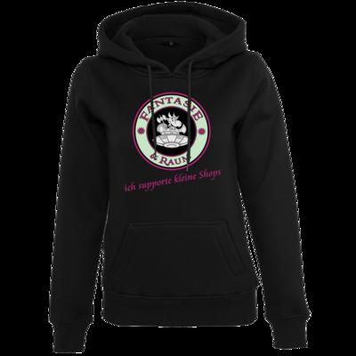 Motiv: Womens Heavy Hoody - ich supporte kleine Shops-hell