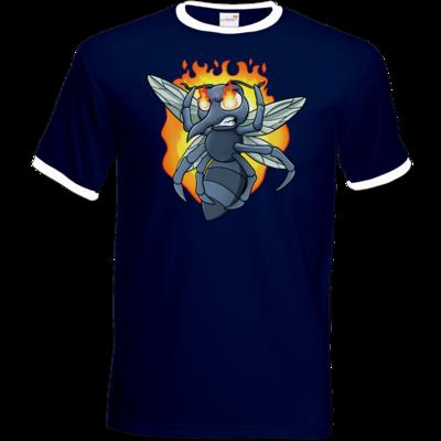 Motiv: T-Shirt Ringer - Rage