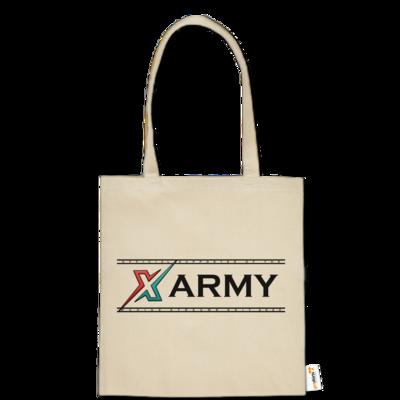 Motiv: Baumwolltasche - X ARMY