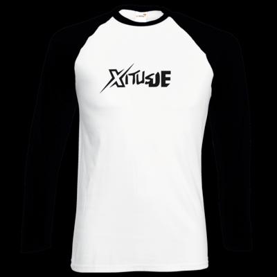Motiv: Longsleeve Baseball T - Black XitusDE