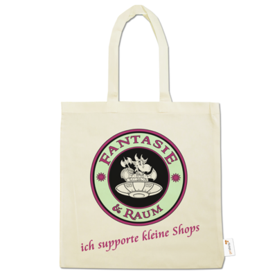 Motiv: Baumwolltasche - ich supporte kleine Shops-hell