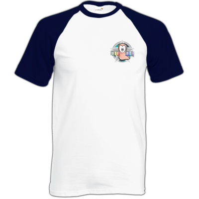Motiv: Baseball-T FAIR WEAR - Small Wormel Logo