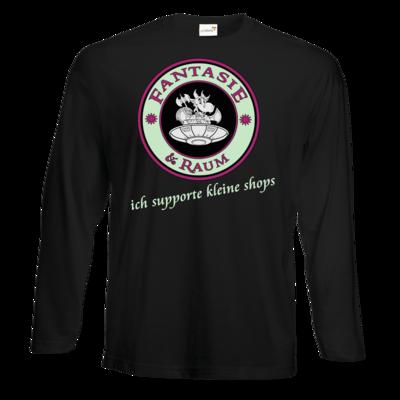 Motiv: Exact 190 Longsleeve FAIR WEAR - ich supporte kleine Shops dunkel