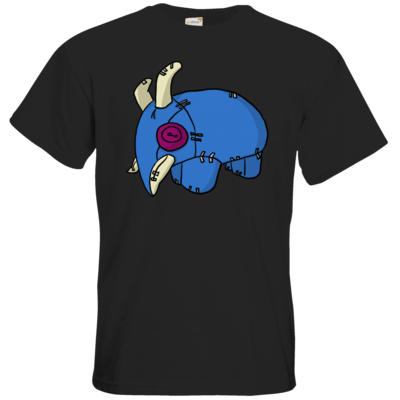 Motiv: T-Shirt Premium FAIR WEAR - Elekk Pluschie