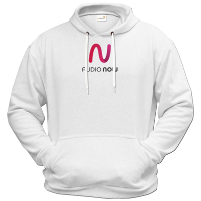 Motiv: Hoodie Premium FAIR WEAR - Logo_Audio Now