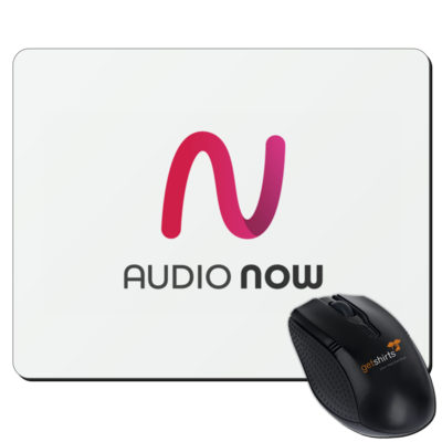 Motiv: Mousepad Textil - Logo_Audio Now