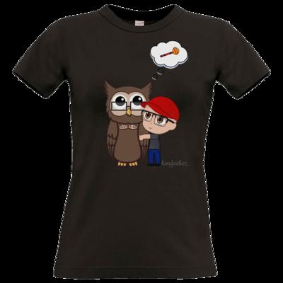 Motiv: T-Shirt Damen Premium FAIR WEAR - Chrizzy mit Neox