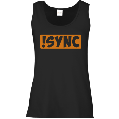 Motiv: Tank Top Damen Classic - !sync orange