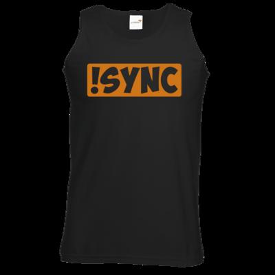 Motiv: Athletic Vest - !sync orange