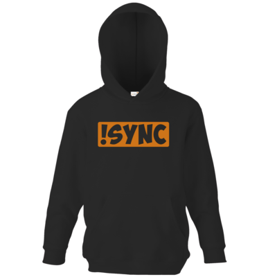Motiv: Kids Hooded Sweat - !sync orange