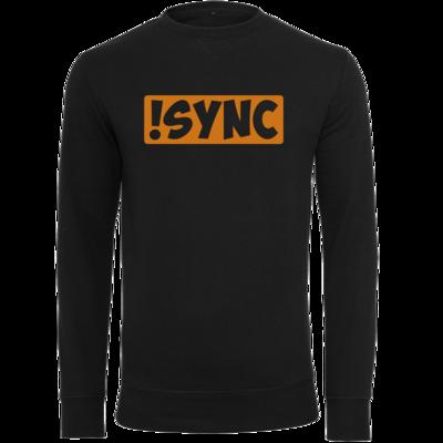 Motiv: Light Crew Sweatshirt - !sync orange