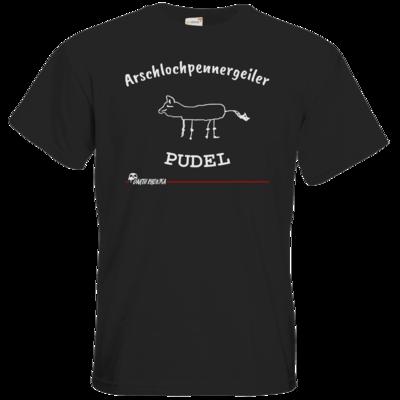 Motiv: T-Shirt Premium FAIR WEAR - Bronkas Pudel