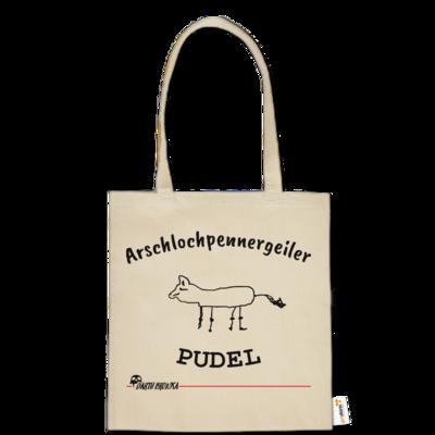 Motiv: Baumwolltasche - Bronkas Pudel