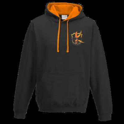 Motiv: Two-Tone Hoodie - Kiquad Logo