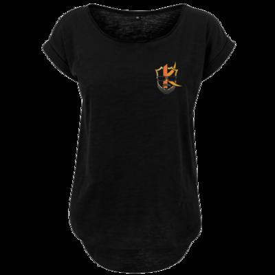 Motiv: Ladies Long Slub Tee - Kiquad Logo