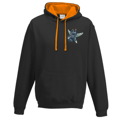 Motiv: Two-Tone Hoodie - CatMosquito