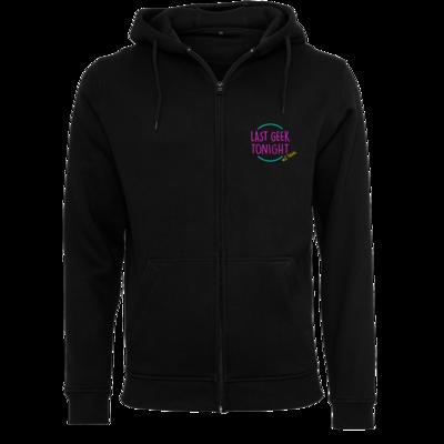 Motiv: Heavy Zip-Hoodie - Logo (mittig)