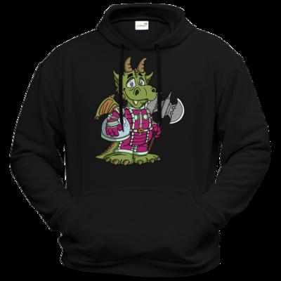 Motiv: Hoodie Premium FAIR WEAR - Space-Dragon