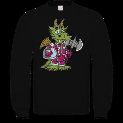 Motiv: Sweatshirt FAIR WEAR - Space-Dragon