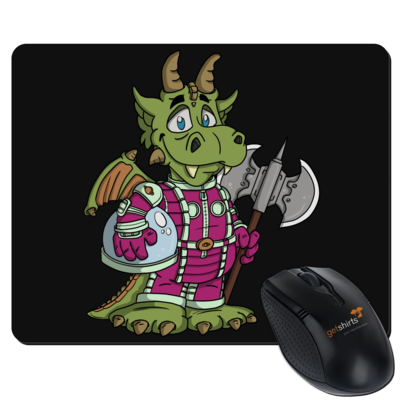 Motiv: Mousepad Textil - Space-Dragon
