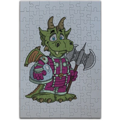 Motiv: Puzzle - Space-Dragon