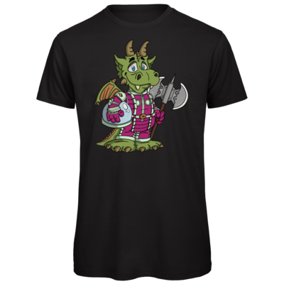 Motiv: Organic T-Shirt - Space-Dragon