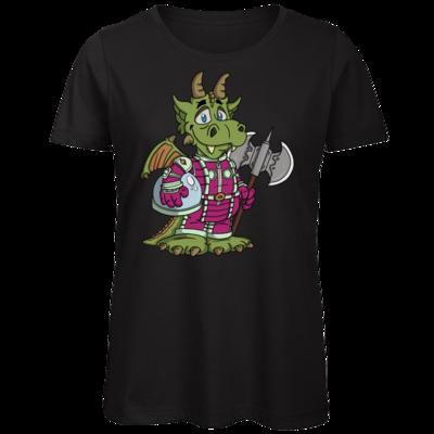 Motiv: Organic Lady T-Shirt - Space-Dragon