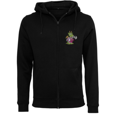 Motiv: Heavy Zip-Hoodie - Space-Dragon