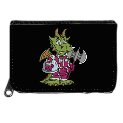 Motiv: Geldboerse - Space-Dragon