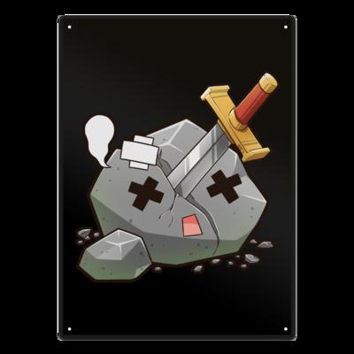 Motiv: Metallschild - Sparki-RIP