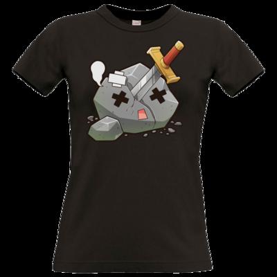 Motiv: T-Shirt Damen Premium FAIR WEAR - Sparki-RIP